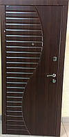 """Входная стальная дверь для квартиры """"Портала"""" (серия Стандарт) ― модель Волна"""