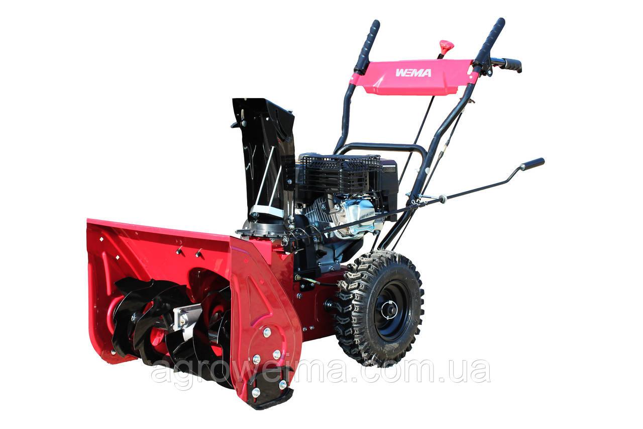 Снігоприбиральник бензиновий WXS0722A Двиг WM170FS/P Recoil start. 560мм, 4+2скорости