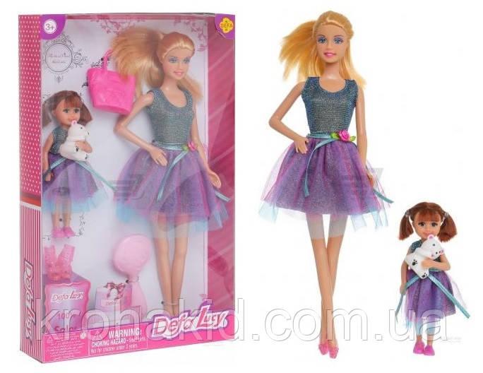 Лялька з аксесуарами для дівчинки Defa Lucy з донькою / Defa Lucy 8304