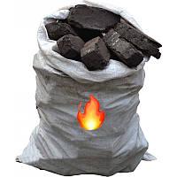 Торфобрикет высококачественный в мешке 40 кг (Чернигов)