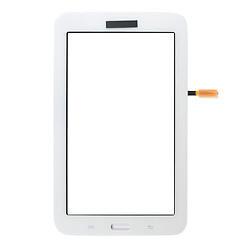 Сенсорний екран для планшету Samsung T110 T113 T115 Galaxy Tab 3 Lite 7.0, тачскрін білий (версія Wi-Fi)