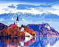 Художественный творческий набор, картина по номерам Красота Австрии, 50x40 см, «Art Story» (AS0538), фото 1