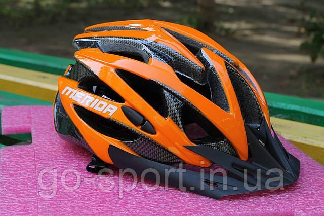 Шлем велосипедный Merida orange