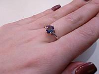 Кольцо мистик топаз. Кольцо с мистическим топазом в серебре. Размер 18-18,5