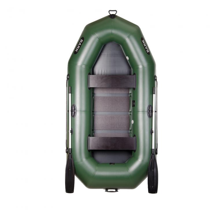 Двухместная гребная надувная лодка Bark (Барк)В-270 доставка бесплатная