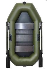 Двухместная надувная лодка Омега (Omega) Ω 220LS, поворотные уключины, слань