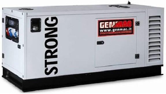 Трехфазный дизельный генератор Genmac Strong G30DSM (33 кВа)