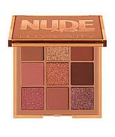 Палетка теней HUDA BEAUTY Medium Nude Obsessions