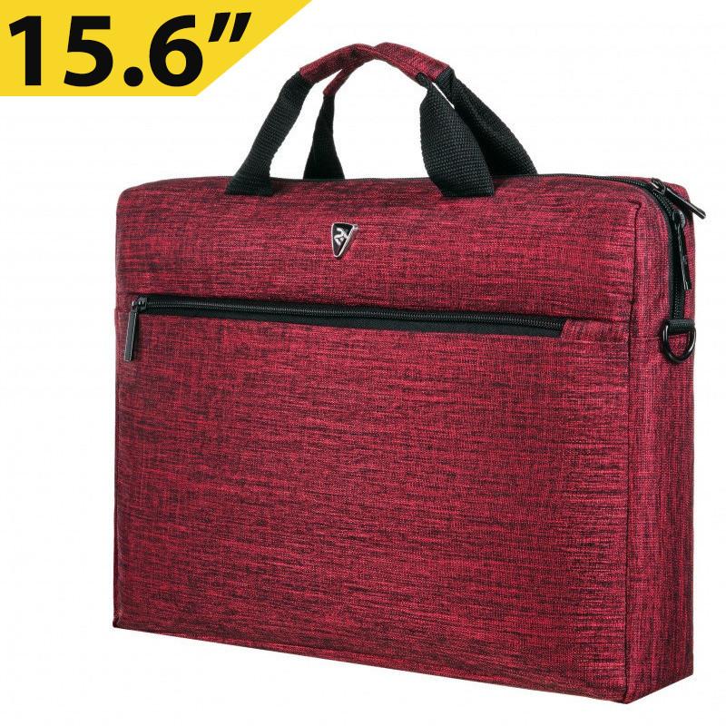 "Сумка для ноутбука 15.6"" 2E, темно-красная, нейлон, 390 x 290 x 59 мм (2E-CBN315BG)"