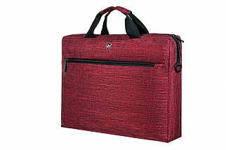 """Сумка для ноутбука 15.6"""" 2E, темно-красная, нейлон, 390 x 290 x 59 мм (2E-CBN315BG), фото 3"""