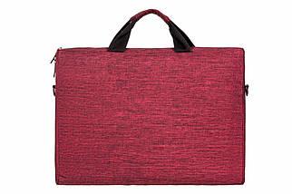 """Сумка для ноутбука 15.6"""" 2E, темно-красная, нейлон, 390 x 290 x 59 мм (2E-CBN315BG), фото 2"""