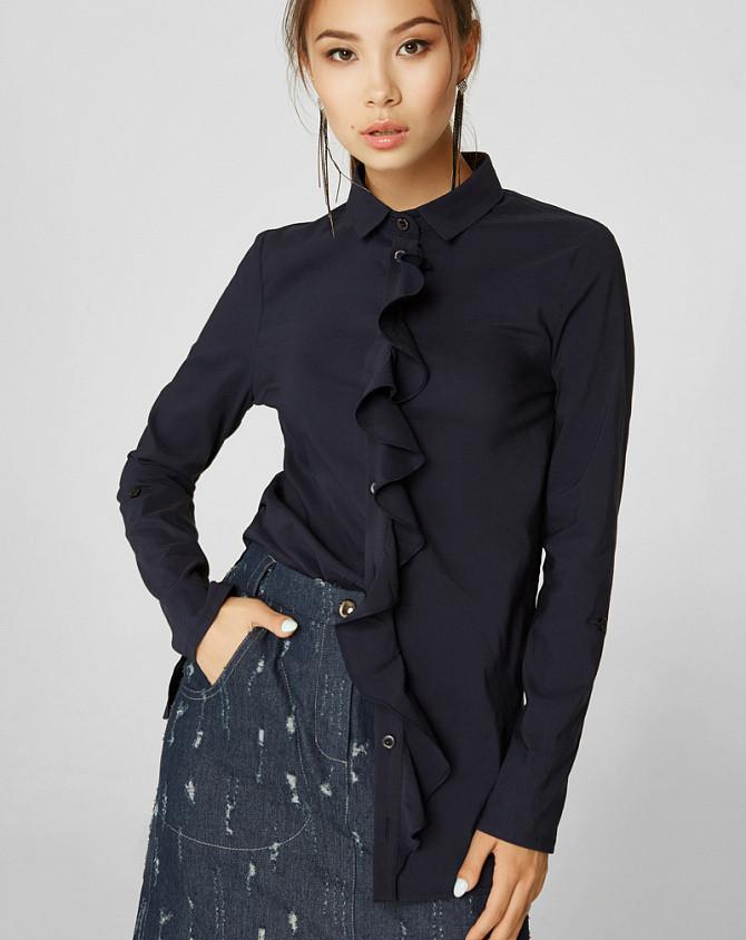 Блуза Modna KAZKA Авалон синяя 2152