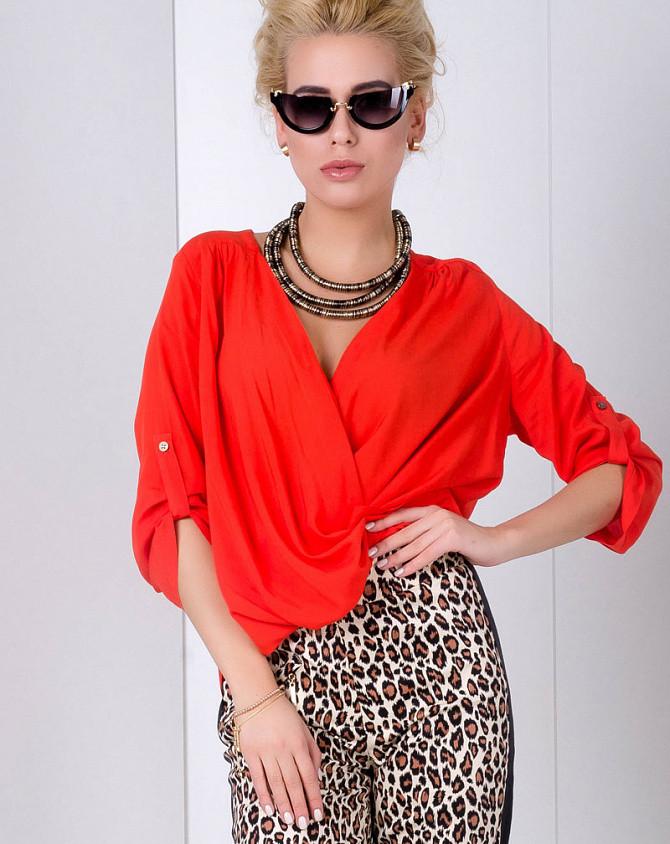 Блуза Modna KAZKA 2012 красная