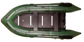 Трехместная моторная надувная килевая лодка Барк (Bark) BN-310S с жестким днищем