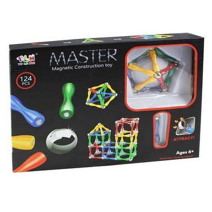 Магнитный конструктор Master Magnetic Construction Building, фото 2