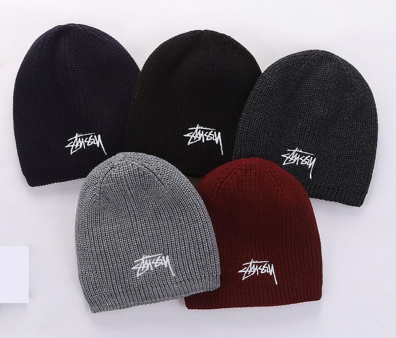 Шапка Stussy для взрослых и подростков шапки стусси