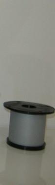 Ножка для мебели, опора для мебели H60 мм D50 мм, Алюминий матовый