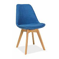 Стул из ткани Dior buk 92888, цвет - синий