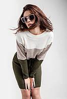 Модное вязаное молодежное платье 3 размера