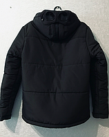 Зимняя курточка C.P. Company goggle jacket  Black replik.