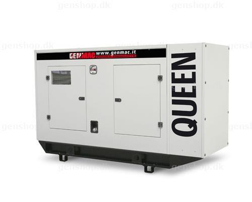 Трехфазный дизельный генератор Genmac Queen G76DSA (81 кВа)