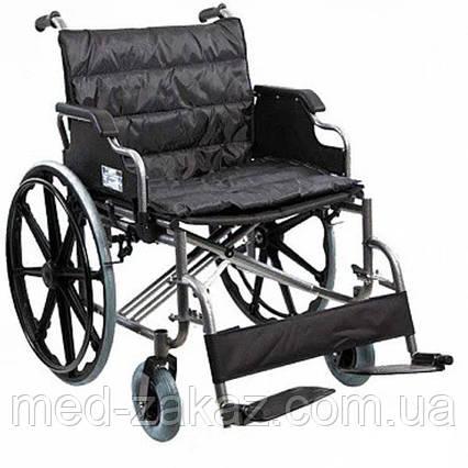 Коляска инвалидная Heaco G140 для людей с большим весом без двигателя