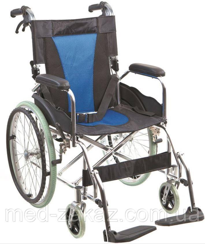 Коляска инвалидная алюминиевая Heaco G503 без двигателя