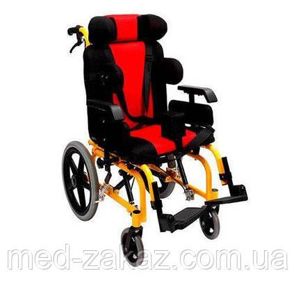 Коляска инвалидная Heaco Golfi-16 для пациентов с церебральным параличом без двигателя