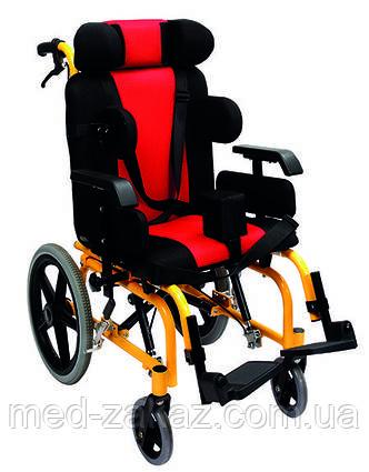 Коляска инвалидная педиатрическая Heaco Golfi-16C для пациентов с церебральным параличом без двигателя