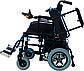 Коляска інвалідна Heaco JT-101 складная з двигуном, фото 2