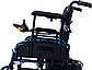 Коляска інвалідна Heaco JT-101 складная з двигуном, фото 4