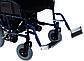 Коляска інвалідна Heaco JT-101 складная з двигуном, фото 6
