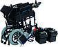 Коляска инвалидная Heaco JT-101 складная с двигателем, фото 7