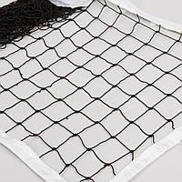 Сетка для волейбола Элит10 Норма  (PP 3,5мм, р-р 9,5x1м, ячейка 10x10см, шнур натяжения)