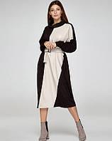 Платье в бохо стиле с поясом, код 2374