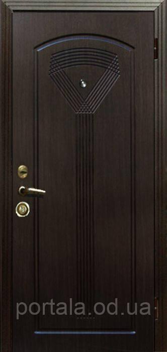 """Вхідні двері """"Портала"""" (серія Стандарт) ― модель Джента"""