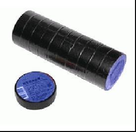"""Ізоляційна стрічка """"ЗМ"""" (250/10) чорна 19мм х 18м (9256)"""