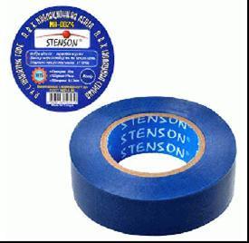 """Ізоляційна стрічка  30м """"Stenson"""" синя МН-0029"""