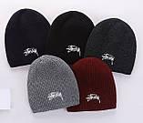Шапка Stussy для дорослих і підлітків шапки стусси, фото 2