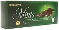 Шоколадные пластины с мятным пралине Scholetta Chocolate Mints, 300 г, фото 1