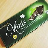 Шоколадні пластини з м'ятним праліне Scholetta Chocolate Mints, 300 г, фото 2