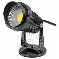 Светильник светодиодный садовый Lemanso LM20 7W 6500K чёрный