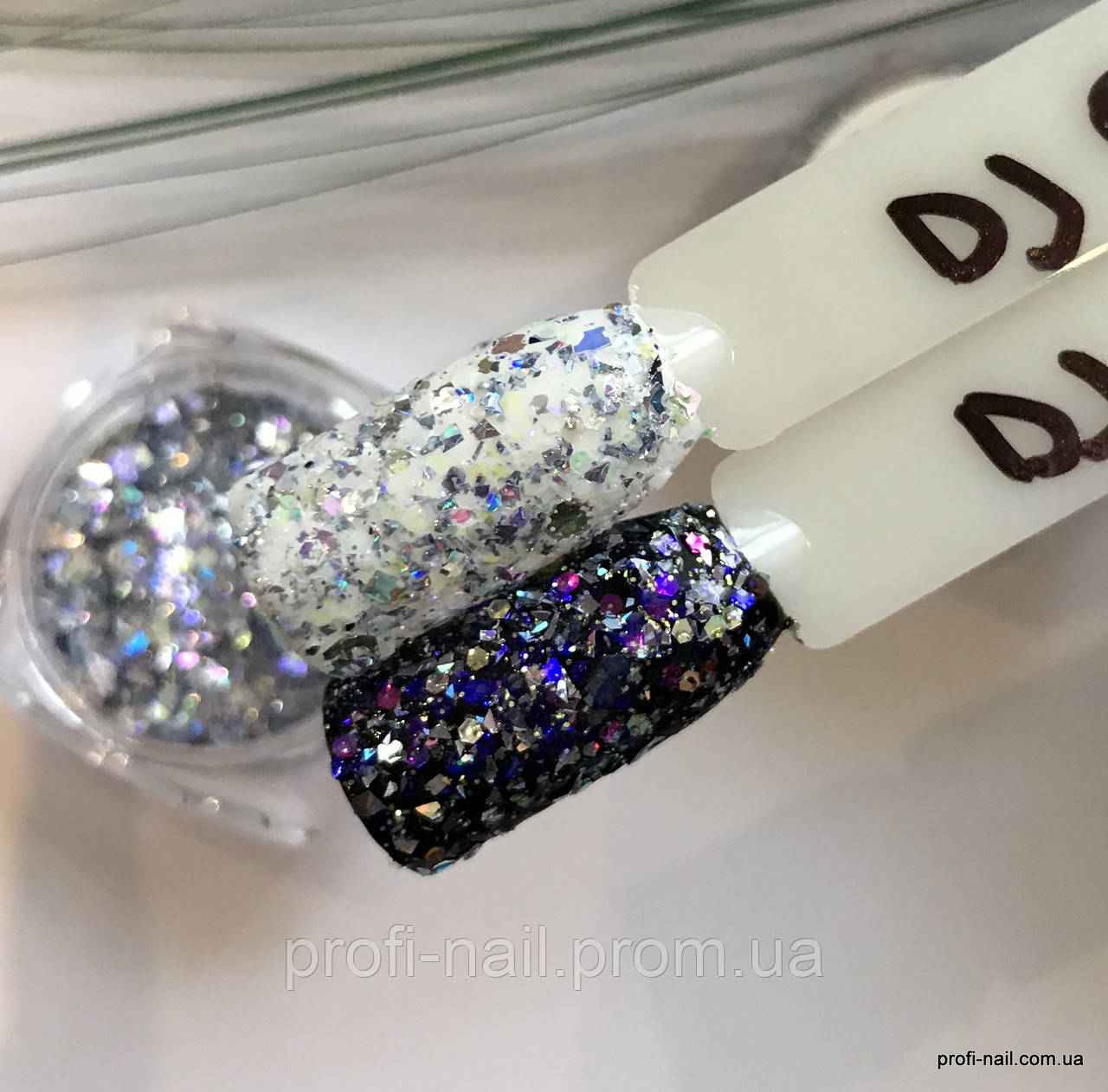 Брокарт для декора ногтей SaMi Professional №06