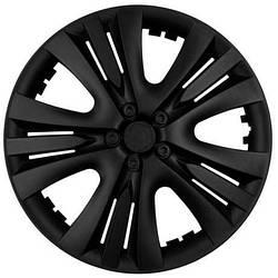 Колпаки колесные неубиваемые R13 черные люкс