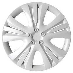 Колпаки колесные неубиваемые R13 люкс цвет белый