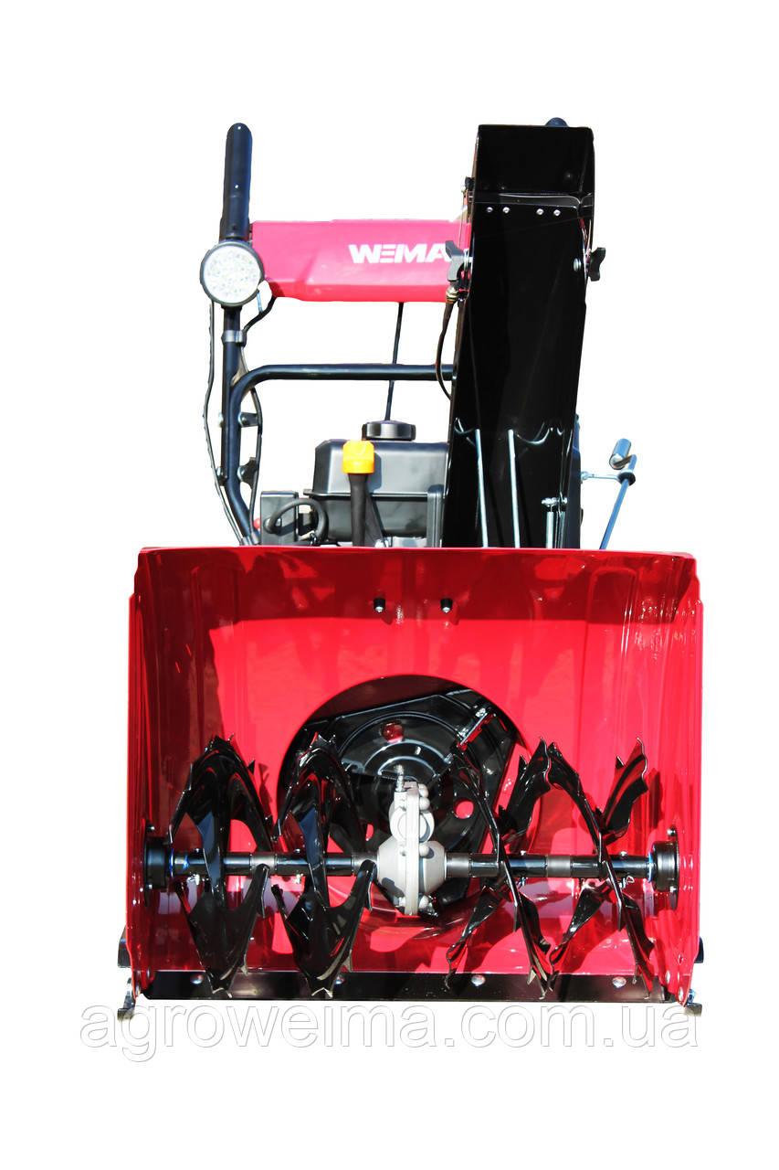 Cнегоуборщик бензиновый WWS0724В/Е. Двиг WM210FES/P  El. start. 610мм, 4+2скорости, 14×5.0-6 Tire