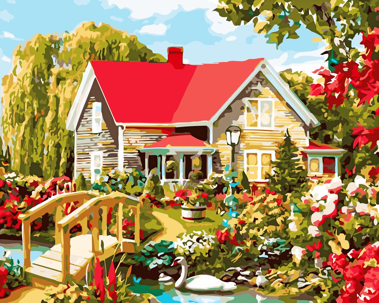 Художественный творческий набор, картина по номерам Дом мечты, 50x40 см, «Art Story» (AS0541)