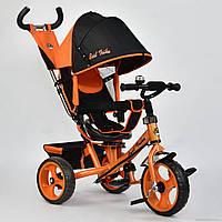 Детский Велосипед трехколесный 5700 - 4780 ОРАНЖЕВЫЙ