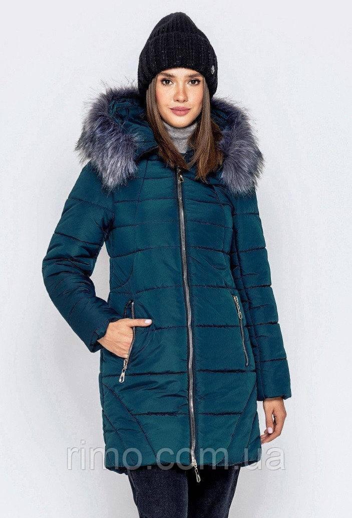 Куртка зимняя большого размера К-77 (4 цвета)