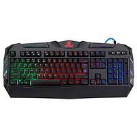 Клавіатура USB ігрова + підсвітка Defender Werewolf GK-120DL USB Black (45120)